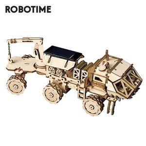 الكبار الطاقة ل3D DIY خشبي المنقولة لعب الجمعية Ls504 الأطفال Robotime لغز نموذج روكر الشمسية بناء أطقم JGRix