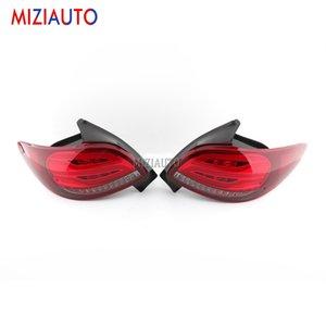 Peugeot 206 2004 2005 2006 2007 2008 206CC Dur Brake lambası Araç Parçaları Aksesuarları için 1 Çifti Led Arka Arka lambalar