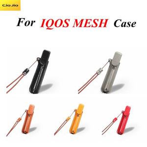 El caso protector de cuero magnético para IQOS MESH 3.0 multi con el cordón de la correa