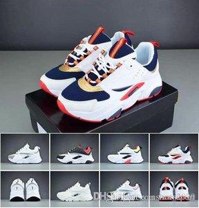 Nuovo B22 Oblique alta qualità bianca Collega B23 B23 Sneaker Nero tripla della maglia di modo di lusso Tess Homees B24 Designer Casual Shoes Eur 36-45