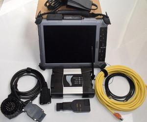 pour BMW ICOM Next Ordinateur portable Xplore iX104 Tablet ICOM Next A2 + B + C pour BMW outil de diagnostic pour BMW ICOM A2 LAPTOP LH4c #