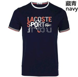 20SS Christian Hommes LACOSTE T-shirts pour Homme Paris Mode Hommes T-shirt France Rue Shorts manches des vêtements de haute qualité occasionnels Tshir