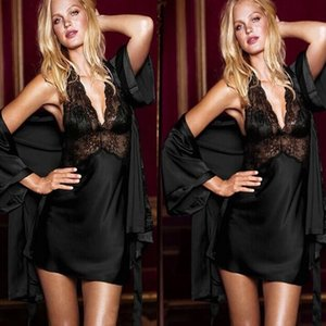 Ict4K cueca pijamas saia pijama Sling saia sexy roupão camisola sexy pijama coat suspender Suspender rendas roupão 4358