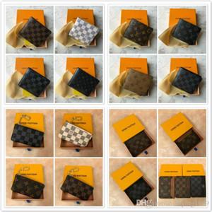 2018 Toptan Lady Sıcak Çok renkli Yeni Madeni Para Çanta kısa Cüzdan Renkli Kart Sahibi Orijinal Kutusu Kadınlar Klasik Pocket tarih kodu a5