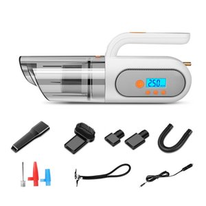Multifunctional Car Vacuum Cleaner with Air Pump Tire Pressure Monitoring Light M4YB