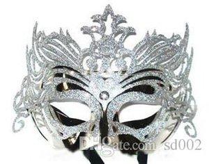 Máscara de la mascarada veneciana del baile de Navidad Máscaras de Halloween fácil lleva práctica una variedad de colores novedosos 1 cc 3mJ