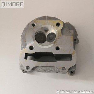 conjunto de rendimiento de 50 mm culata de cilindro (válvulas más grandes) para Scooter 139QMB 147QMD GY6 50 60 80cc de actualización en GY6 100cc sa0W #