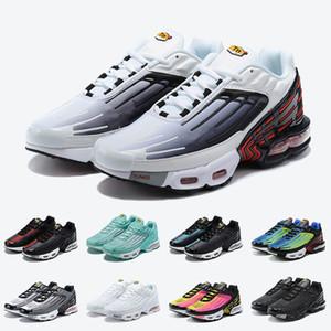 Nike Air Max Plus Tn 3 Tuned Air Tn 3 Mejor calidad Blanco Rojo Negro Tn PLUS 3 III para hombre de los zapatos corrientes demás de moda para mujer zapatillas Entrenadores