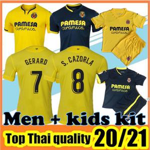 20 21 Villarreal CF Soccer Jersey 2020 2021 CHUKWUEZE FORNALS Football Shirt PEDRAZA MORENO EKAMBI IBORRA Camiseta de Fútbol uniforms