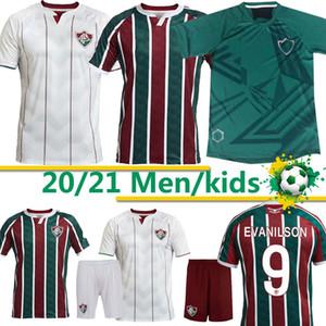Fluminense 2020 21 de Futebol Ganso Fluzão FRED PHGANSO HUDSON NENE NINO HENRIQUE Futbol Camisas Futebol Camisetas masculinas Camisetas Tailândia