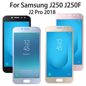 Orijinal Samsung Galaxy J2 PRO 2018 J250 SM-J250F / DS LCD Ekran Dokunmatik Ekran Digitizer Meclisi J250F-+ Ücretsiz Araçlar için AMOLED