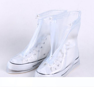 New Outdoor Rain Shoes Boots Covers Waterproof Slip-resistant Overshoes Galoshes Travel Shoes for Men Women Kids