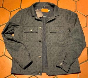 Hommes Jackte Denim Printemps Automne avec des lettres Fermeture éclair coupe-vent Étoile Motif pour les hommes et femmes Vestes Manteau Jean Jacket