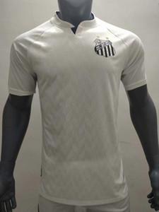 2020 FC Clube Fußball-Trikot Santos FC 20 21 ALISON RENATO RODRYGO CUEVA BRUNO SOTELDO DODO camiseta zu Hause weg Fußballhemden