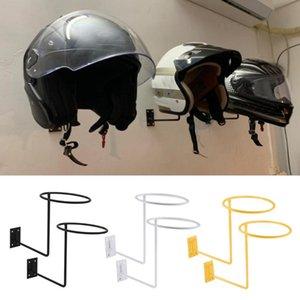 Moto mural Casque Porte-Hanger, Casque affichage Support de rangement de basket-ball Porte-cintre multifonction rack