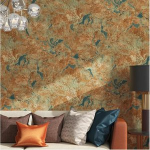 WELLYU The new Imitation marble mottled diatom gray wallpaper living room wall clothing store industrial wind wallpaper