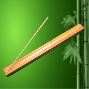 1Piece бамбука Материал ручки ладана Plate Incense держатель Ароматный Посуда Стик Курильница