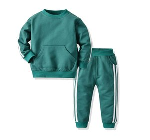 New boy 1-4 years old girl suit sportswear sweater clothing suit hot selling fashion spring and autumn children's casual suit long sleeve ja