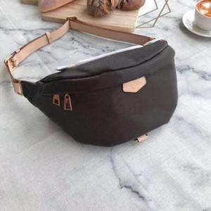 Klassische Marken-Art- und Gürteltasche echtes Leder Crossbody Pack neue Marke Ankunft Unisex Chest Tasche Top Ausgezeichnete Qualität