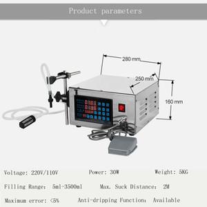 aliments de haute qualité de remplissage des boissons de lotion pour le parfum de la machine de remplissage de liquide machine à machine de remplissage liquide CNC électrique