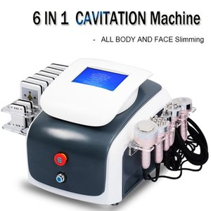 새로운 모델 초음파 Cavitation 진공 무선 주파수 Lipo 레이저 슬리밍 기계 캐비테이션 체중 감소 슬리밍 뷰티 장비