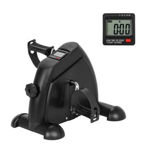 Fitness Pedal Mode Radfahren Mini Übungs-Fahrrad-Pedal-Exerciser mit LCD-Display Indoor Exercise Sportausrüstung