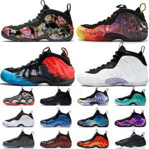 2020 Penny Hardaway espuma Uno Prm Área 72 Zapatos asteroide hombre araña de baloncesto para hombre pequeño Postie Pro blancas zapatillas de deporte 40-47 3D