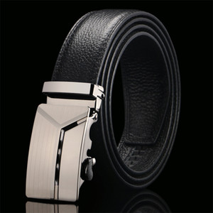 Ckmn Brand Genuine Belt Male Fashion Designer Business Leather Belts Men Metal Automatic Buckle Strap for Jeans Hot