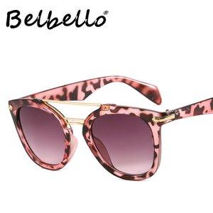Belbello hommes Goggle Lunettes de soleil femme Lunettes de soleil Vintage Fashion Lady Punk les plus populaires Tendance Wrap UV400