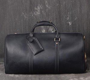 Высокое качество дизайнера мужчины 50 55 спортивных дорожная сумка мужской багаж роскошь вещевой мешок Кроссбоди тотализатор сумки блокировки keyd2