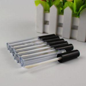 Mascara geada Lip Gloss Esvaziar 0,8ml / 3 ml pestana frasco cosmético Jar recipientes de armazenamento Labial Tubo Eyeliner Maquiagem Batom 0 9QR C2