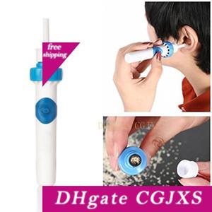 Güvenli Temizleyici Temizleme Aracı Güvenlik Kulak Bakımı Elektrikli Kulak Wax Remover Viration Temizleyici için Taşınabilir Elektrikli Şarjlı Süpürge Kulak Temizleyici