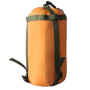 Waterproof material Compression Sack saco leve Outdoor Camping Sleeping Bag pacote de armazenamento para viagem Caminhadas