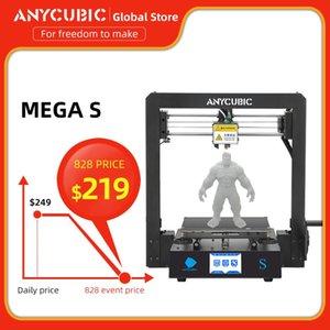 ANYCUBIC 3D принтер Mega S Печать ABS PLA Desktop DIY комплекты Нить Модернизированный Industrial Grade 3d Друкер Большой размер печати
