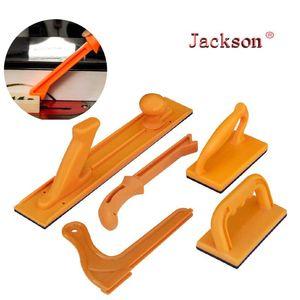 5pcs DIY para trabajar la madera instrumentos Juegos Desplazar el bloqueo de la herramienta Tabla directo Router Tratamiento de la madera del bloque y de conjunto del palillo oblicua