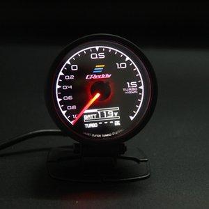 62mm ومقاس 2.5 بوصة لون 7 في 1 سباق GREDDY متعدد D / A LCD العرض الرقمية توربو مقياس السيارات مقياس الاستشعار