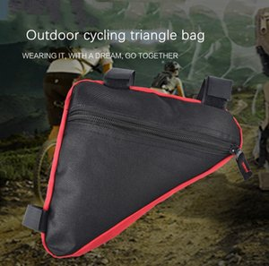 2020 Factory Direct New Sports Outdoor Riding Equipment Bicycle Triangle Bag Beam Upper Tube Bag Bicycle Factory Wholesale