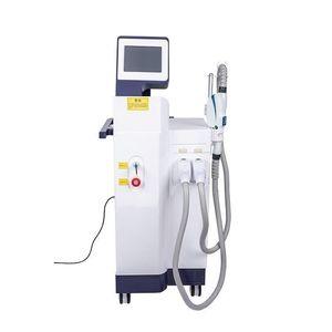 2020 venda quente 2 em 1 picossegundos máquina de remoção de tatuagens com laser e luz IPL DPL depiladora rf máquina para salão