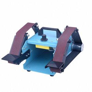 KKMOON 950 W 110-230 V Çok Fonksiyonlu Masaüstü Çift Eksenli Kemer Zımpara Taşlama Makinesi Zımpara Makinesi K76K #