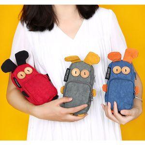 Kawaii Novelty Cartoon Pencil Case Pen Bag Makeup Pouch Stationery Gift for Girl Boy Student School Supplies C26