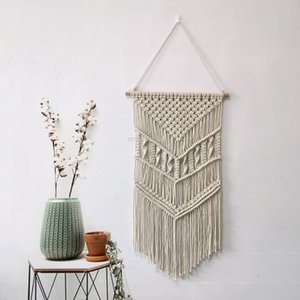 Hand-Woven Tapestry Home Decorative Simple Wall Hanging Tapestry Wall Hanging