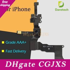 Frente alta calidad frente a la cámara de proximidad Sensor de luz flexión de la cinta del cable para Iphone 5 5s 5c 6 6s Plus 4 0.7 5 0.5