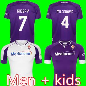 2020 2021 Fiorentina Soccer Jerseys Ribery Simeone Prince Pzzella Chiesa 20 21 Fiorentina Football Shirts Vlahovic Maillot de pied