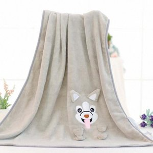 Cute Dog Cartoon Blanket Baby Blankets Infant Toddler Coral Fleece Bedding Newborn Swaddle Wrap Kid Swaddling Baby Care Products 5cCm#