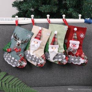 CCreative hristmas Süßigkeit Trumpf-Geschenk-Beutel Weihnachtsbaum Dekorationen Socken Hanging On Wall