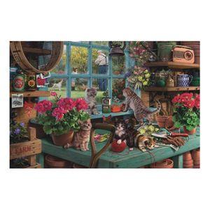 2mm Puzzles 150 Pieces Snow house Puzzle Toys Adults Children Paper Assembling Picture Landscape Games Educational Toy