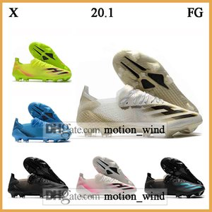 GIFT BAG Mens Low Ankle Football Boots X Ghosted .1 FG MelangeX20.1 Soccer Cleats X 20.1 FG Outdoor Soccer Shoes