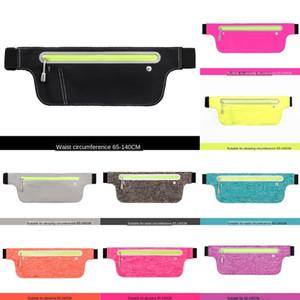 Deportes teléfono móvil impermeable al aire libre Teléfono banda en funcionamiento multifuncional bolso de la cintura luz invisible bolsa de correr
