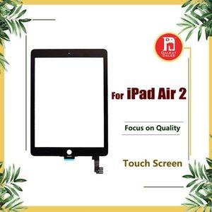 Ersatz Bildschirm für Ipad 6 für Ipad Air 2 Air2 Touch Screen Digitizer Touch-Glasfront Outer Glasverkleidung Ersatz für Ipad 6 Teile