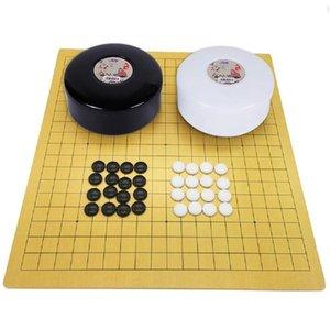 Çocuk Arkadaş Eğitim Eğlence Board Game için Çinli Eski Weiqi Alkış Git Seti Aile Oyunları